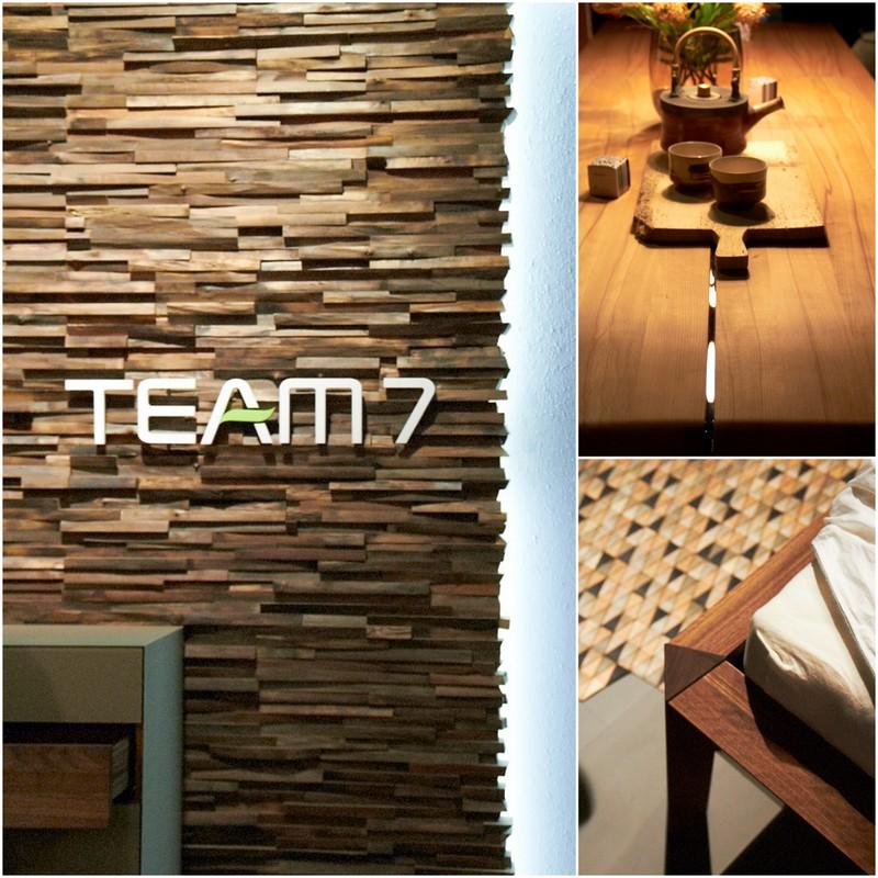 holz holz und nochmal holz m bel streicheln bei team 7. Black Bedroom Furniture Sets. Home Design Ideas