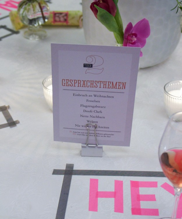 einfach heiraten Buchparty