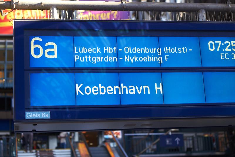 und es ging nach Kopenhagen