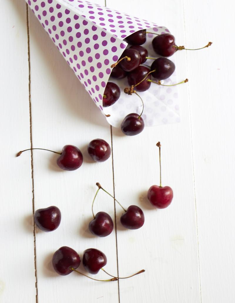 Zusammen schmeckts besser oder mit Claretti ist gut Kirschen essen