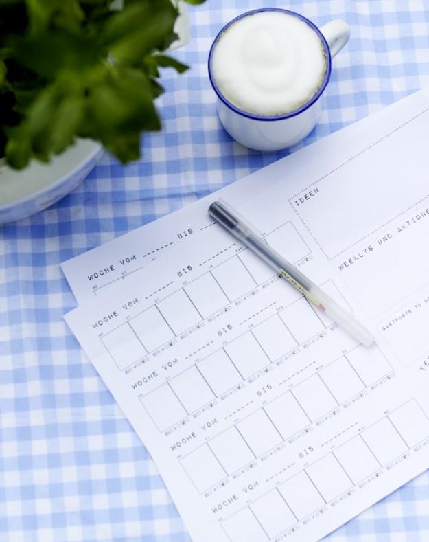 blog planung kalender