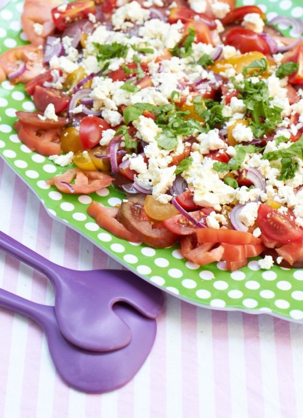 Tomatensalat tastesheriff unterschiedliche Tomaten