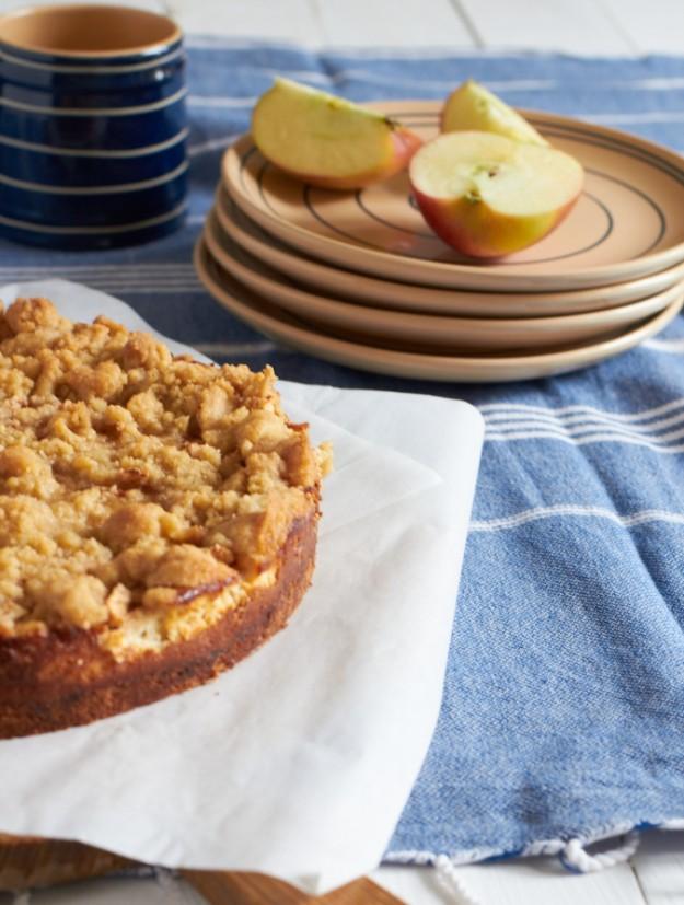 ichbacksmir tastesheriff Apfelkuchen Apfel-Cheesecake 1