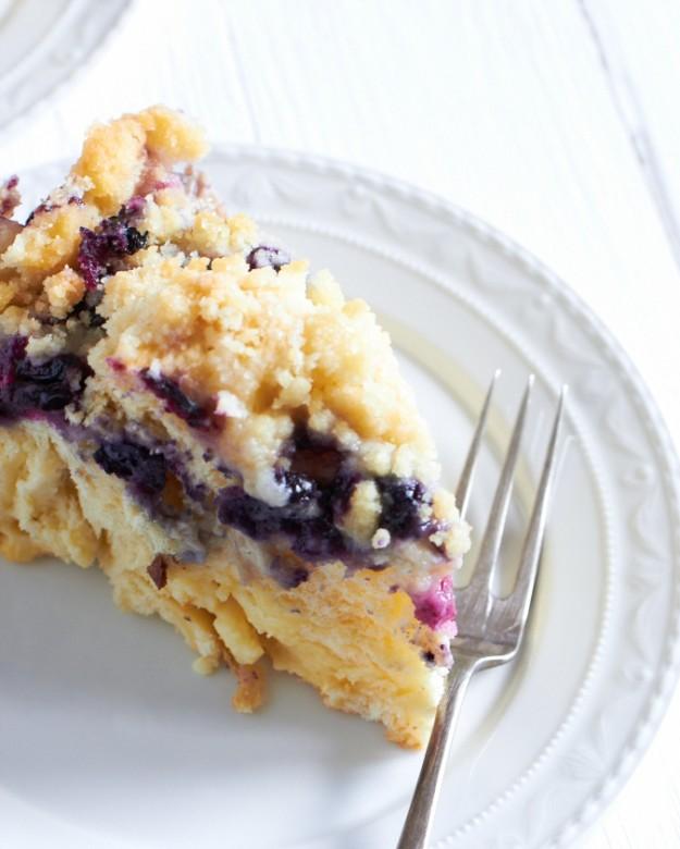Blaubeer Puddingschnecken Kuchen http://www.tastesheriff.com/