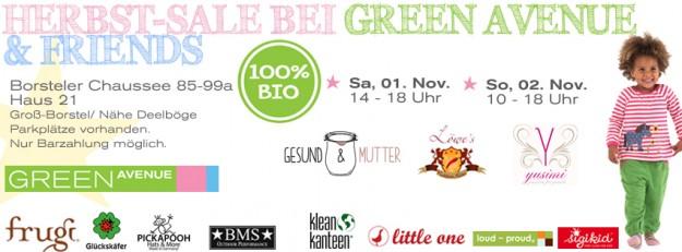 green avenue  Sonderverkauf