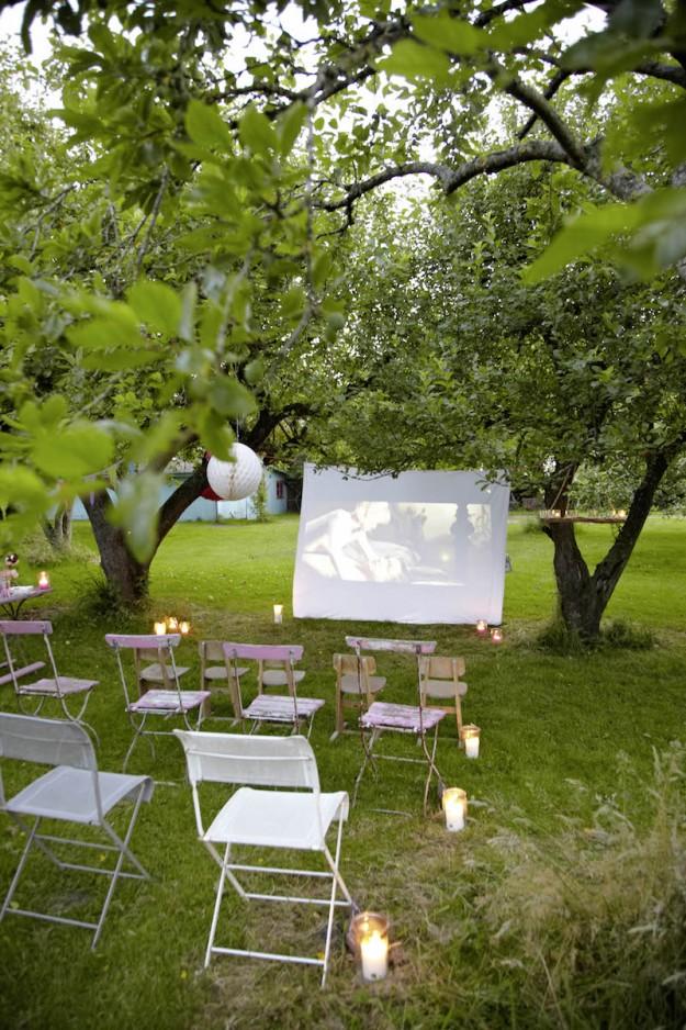 raus mit euch – ab ins private outdoor kino | tastesheriff, Hause und garten