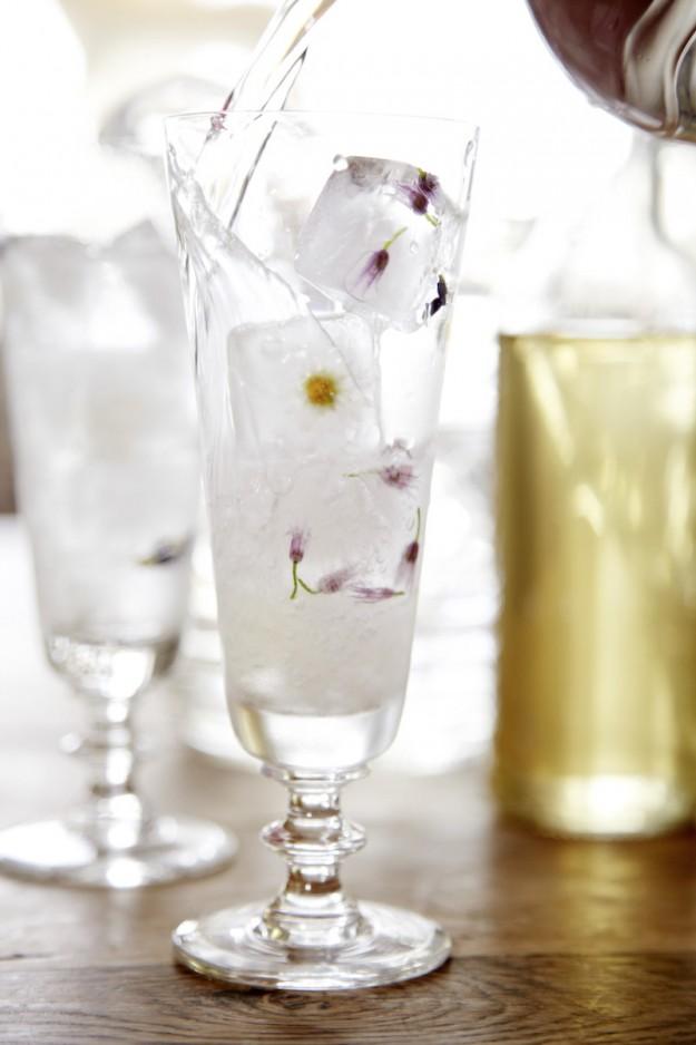 gefrorene Blüten http://www.tastesheriff.com/ Foto: Christian Burmester