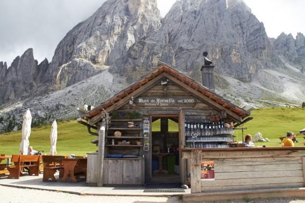 Suedtirol Wanderung um die Fornella Hütte