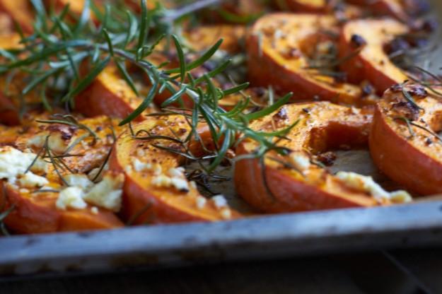 Ofenkürbis, leckeres Herbstrezept