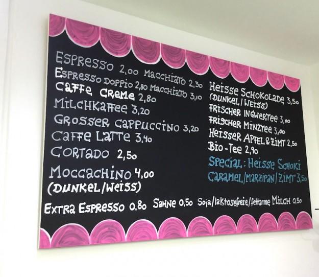 In Stuttgart gibt es eine Riceteria - leckeren Kaffee aus den tollen Riceprodukten genießen.