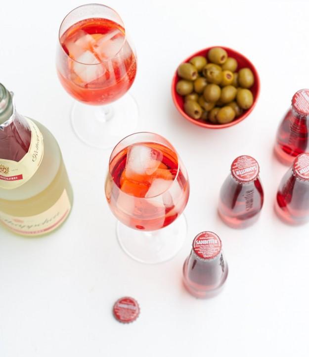 alkoholfreier Sommerdrink