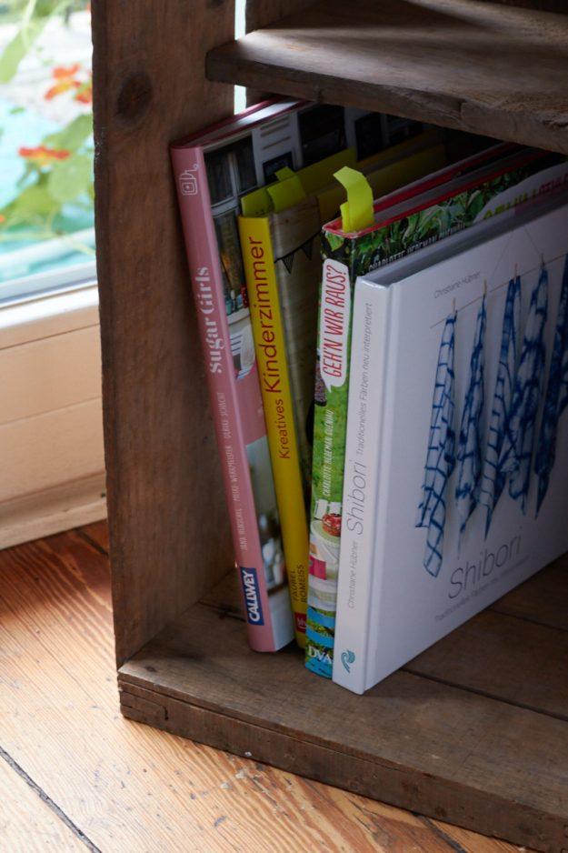 in meinem Bücherregal