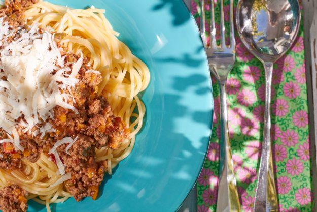 Mein Liebingsrezept für Spaghetti Bolognese