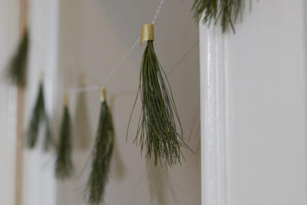 Tannengirlande - ein einfaches DIY für die Weihnachtszeit