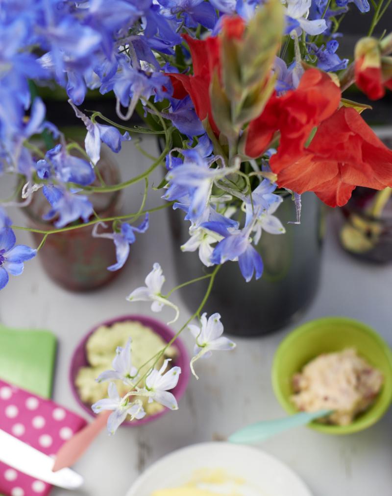 Fabelhaft Claretti und die Blumen im August   tastesheriff @JN_31