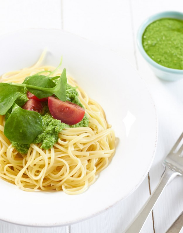 Brunnenkresse Pesto - und ein Plädoyer für mehr hausgemachtes Pesto