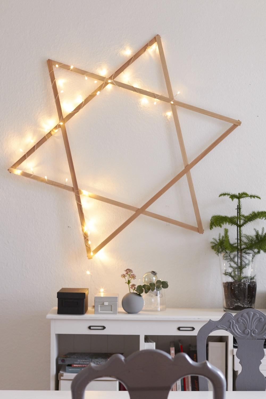ein bisschen weihnachtsstimmung auf die schnelle mit einem. Black Bedroom Furniture Sets. Home Design Ideas