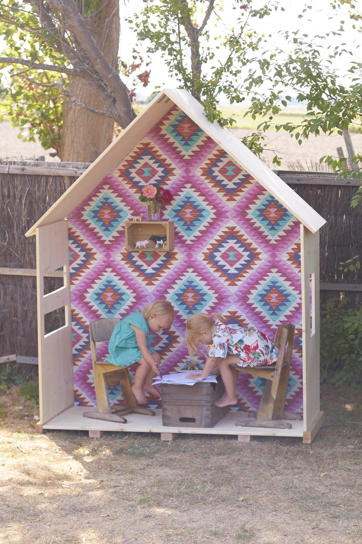 Ein Offenes Kinderhaus Im Garten Ein Diy Projekt Für Kinder