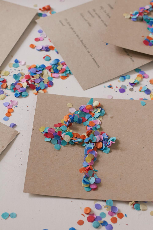 DIY - Hübsche Einladungskarten für Kindergeburtstage schnell und einfach selbermachen