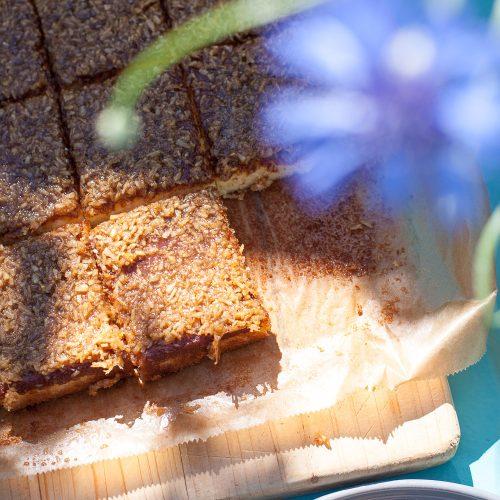 Ein beliebtes Rezept für den Dänischen Traumkuchen - Drømmekage